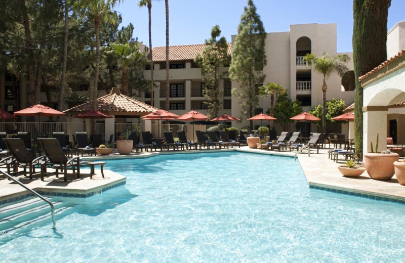 Outdoor pool at Sheraton Tucson Hotel & Suites.