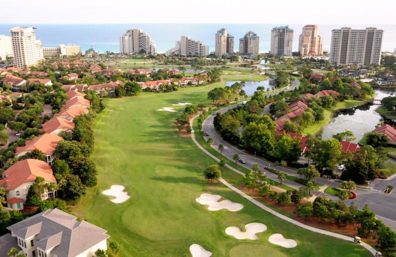 Golf course at Hilton Sandestin Beach Golf Resort & Spa.