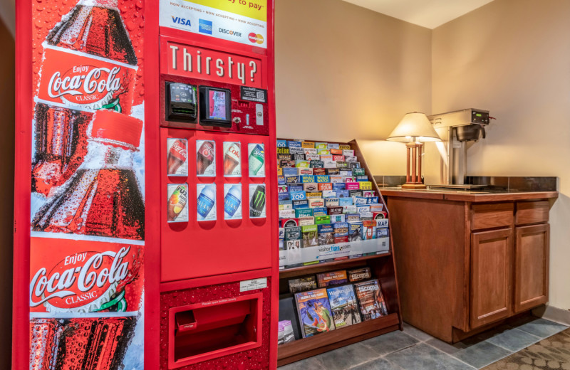 Vending machine at The INN at Gig Harbor.