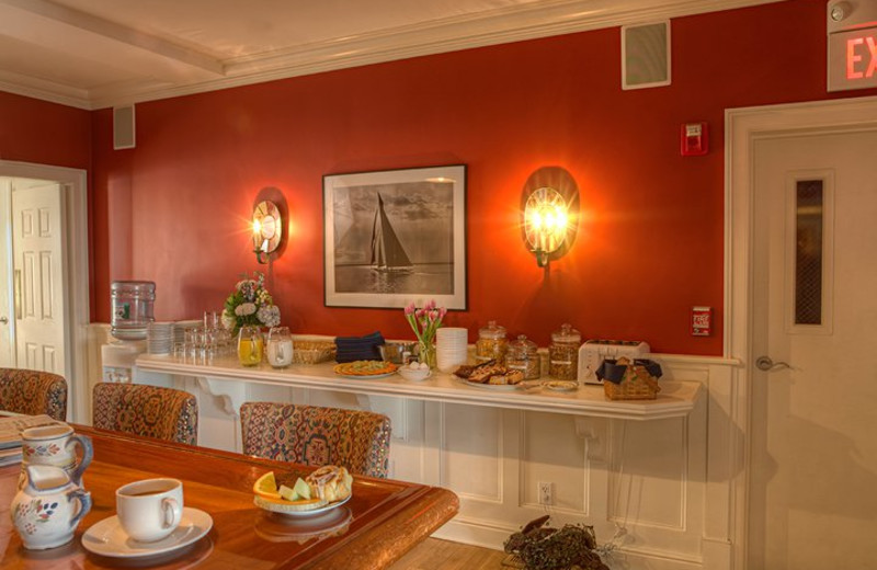 Continental Breakfast at The Inn at Stonington