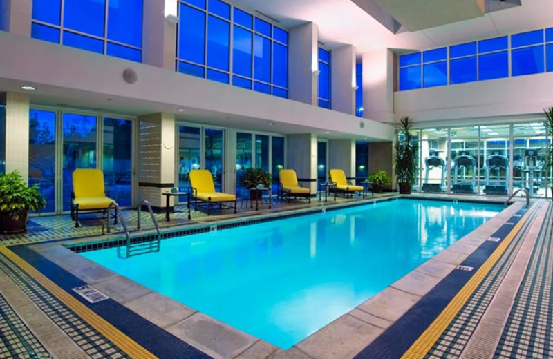 Indoor pool at Detroit Marriott Pontiac at Centerpoint.