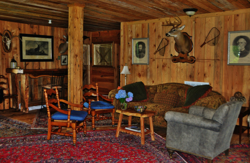 Living room at Singletree Gun & Plough.