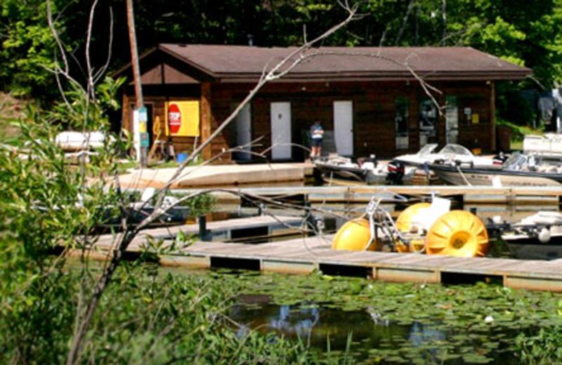 Marina at Lakewoods Resort.
