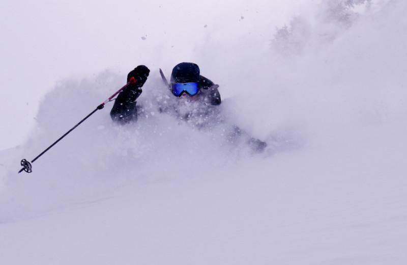 Skiing at Canyon Services Vacation Rentals.