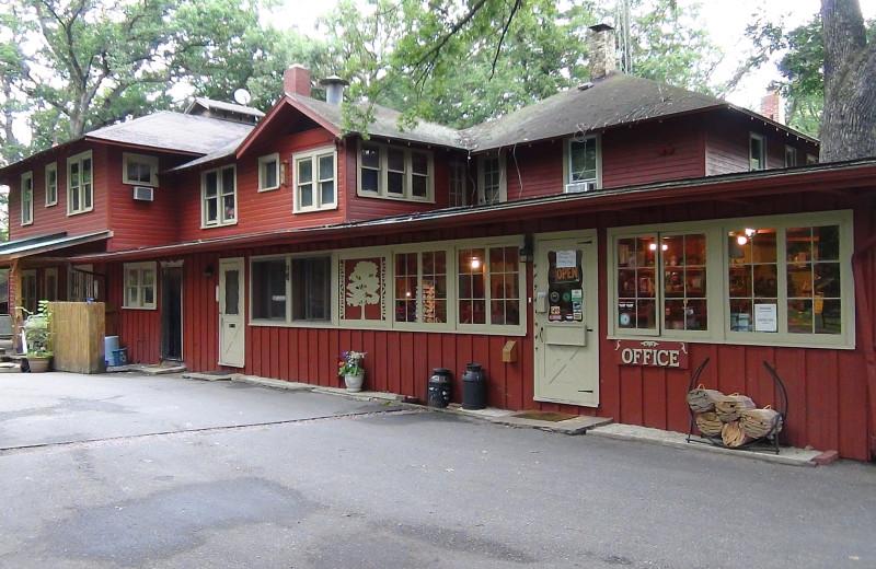 Exterior view of Birchcliff Resort.