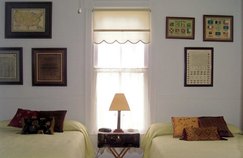 Guest Room at Stanley-Fisher House