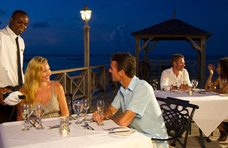 Dining at The Jewel Dunn's River Resort & Spa.