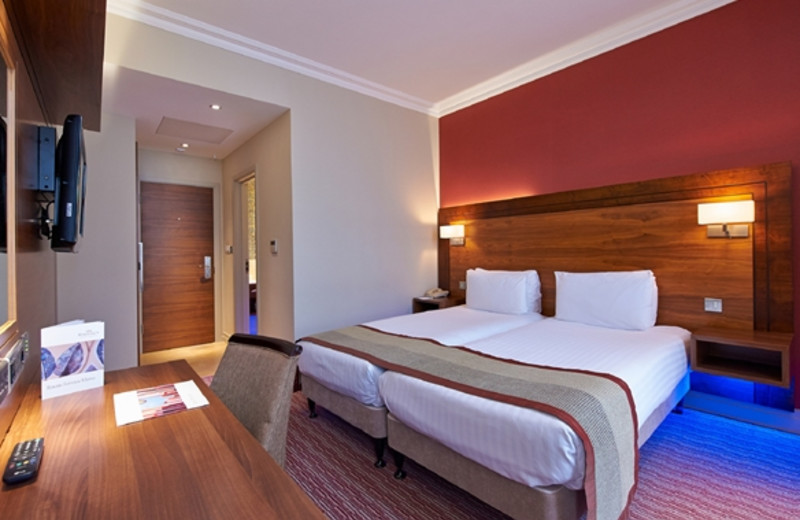 Guest room at Regency Hotel.