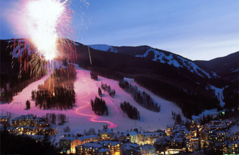 Fireworks at The Charter at Beaver Creek.
