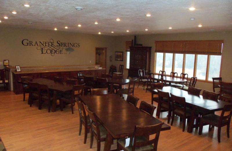 Conference room at Granite Springs Lodge.