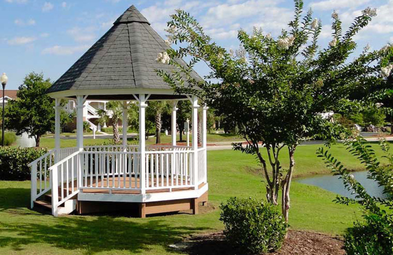 Rental gazebo at Barefoot Resort Rentals.