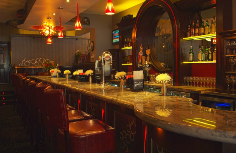 The bar at Capitol Plaza Hotel & Conference Center.