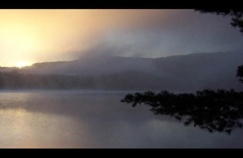 Sunrise at The Georgian Lakeside Resort.
