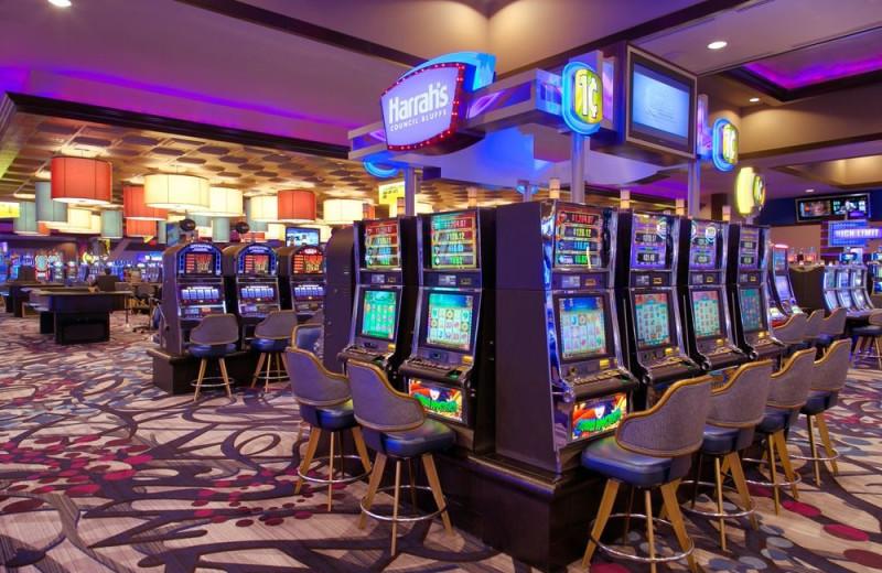 Casino at Harrah's Council Bluffs.