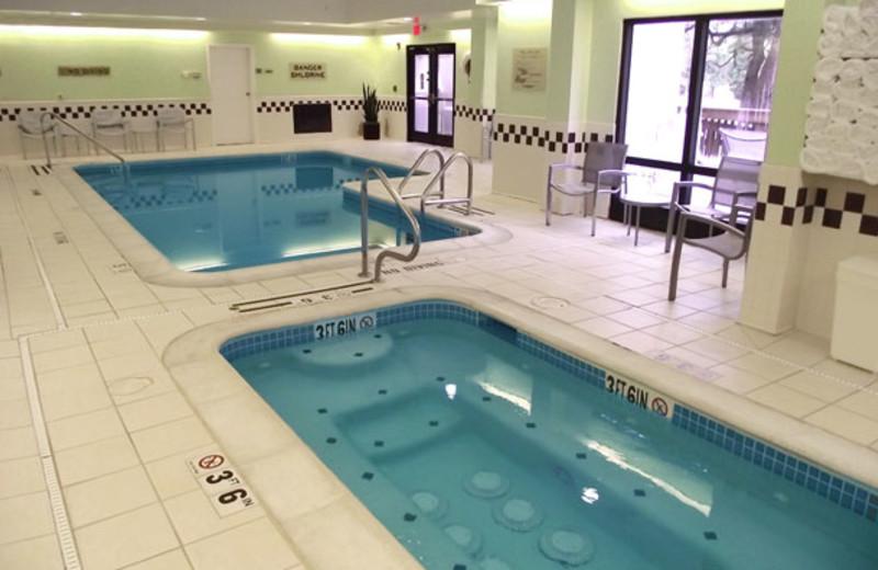 Indoor pool at SpringHill Suites Austin Northwest.