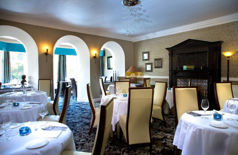 Dining at Duisdale Country House Hotel.
