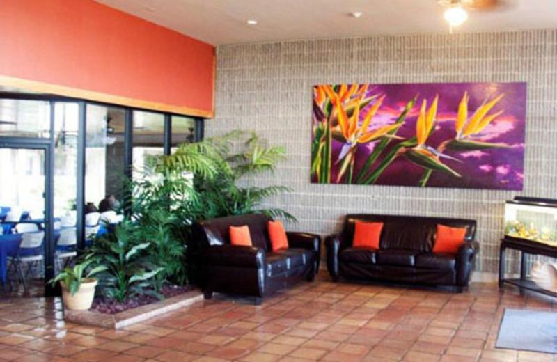 The Lobby at The Mayan Princess