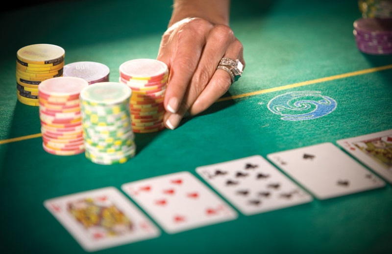 Making the bet at Talking Stick Resort Casino