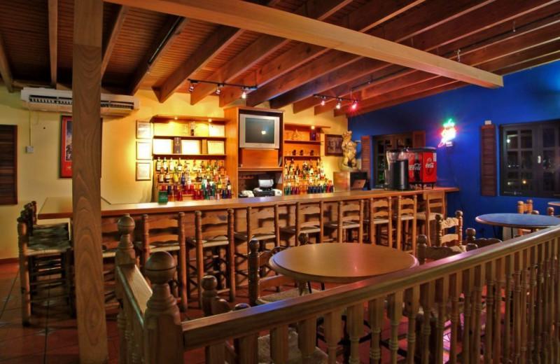 Bar at The Fajardo Inn.