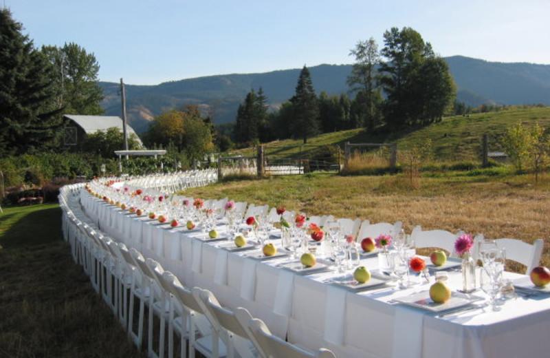 Wedding at Mt Hood Bed & Breakfast.