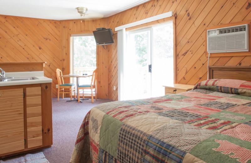 Lodge room at Half Moon Trail Resort.