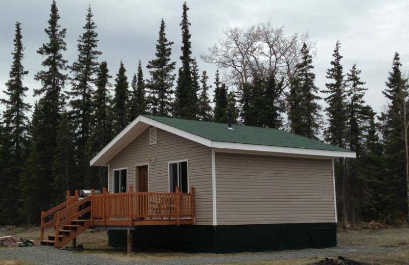 Attirant Cabin Exterior At Eaglesu0027 Rest Cabins.