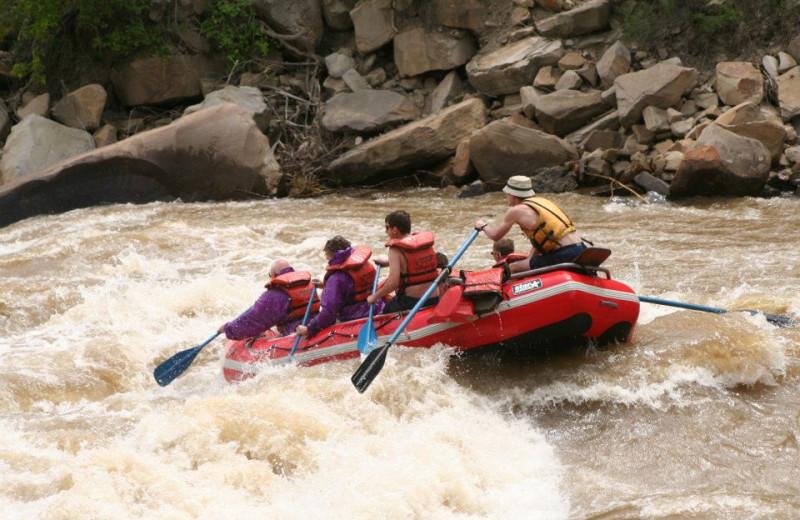 White Water Rafting at Willowtail Springs