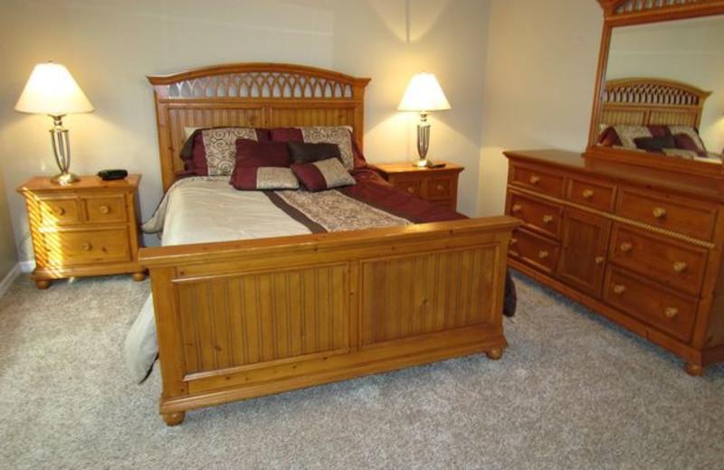 Guest Bedroom at Long Key Vacation Rentals