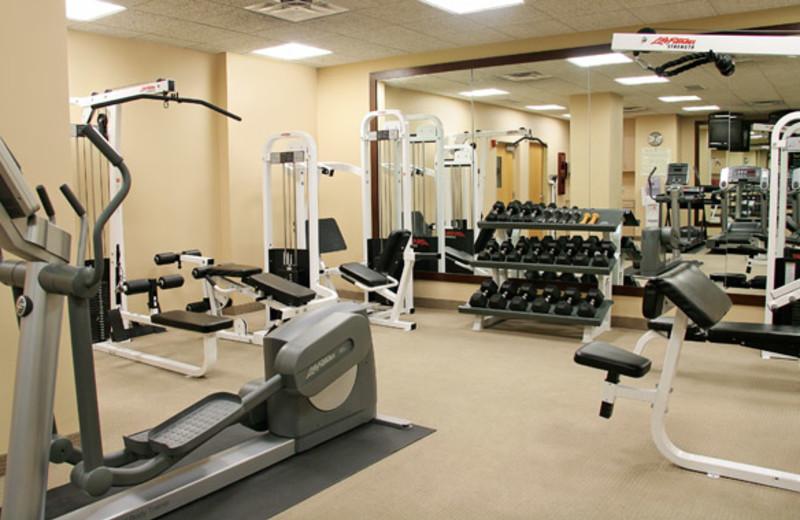 Fitness Room at Crowne Plaza Minneapolis