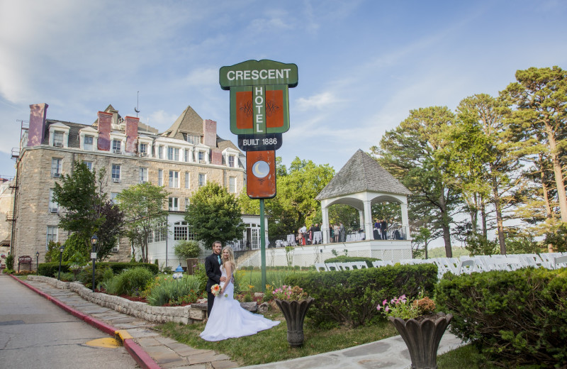 Weddings at 1886 Crescent Hotel & Spa.