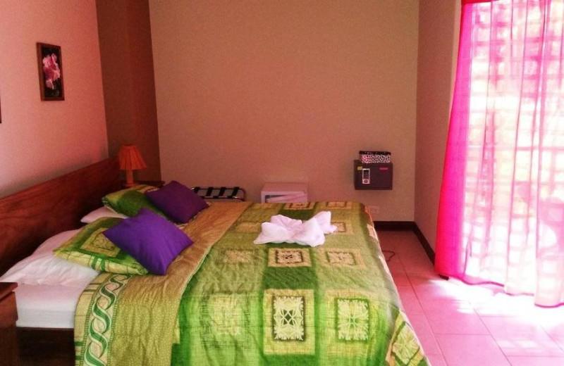Guest room at Mar y Selva Hotel.