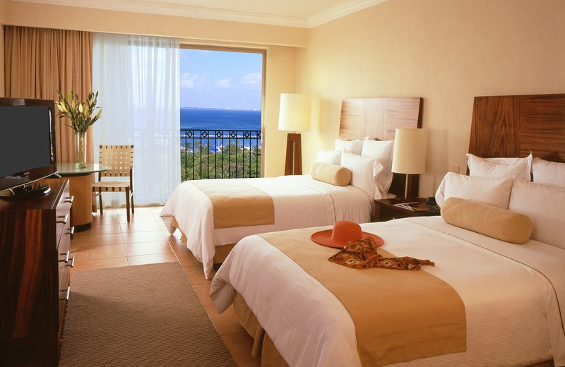 Guest room at Fiesta Americana Condesa Cancun.