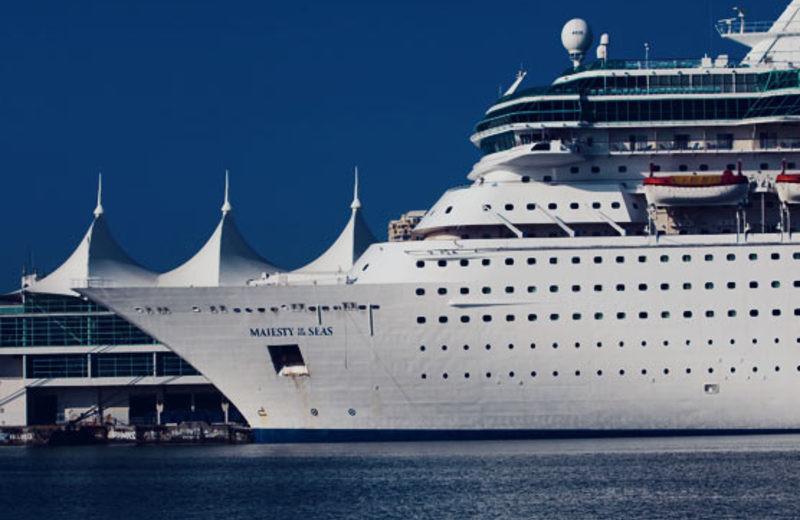 Cruise port near Casa Moderna Miami.