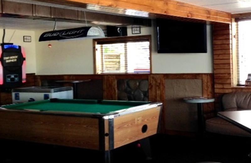 Billiard at Alhonna Resort.