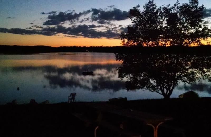 Lake view at Birch Bay Resorts.