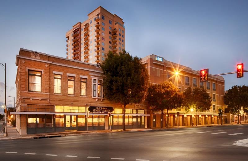 Exterior view of Best Western Plus Sunset Suites Riverwalk.