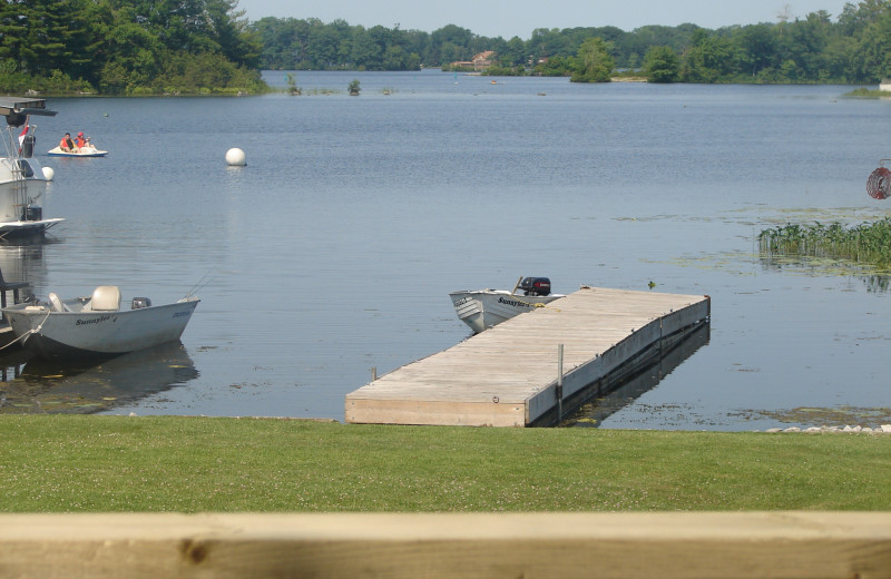 Lake view at Sunnylea Resort.