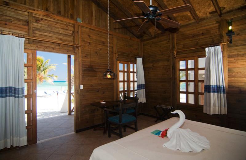 Guest room at Petit Lafitte.