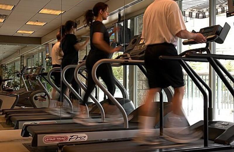 Fitness Room at The Rimrock Resort Hotel
