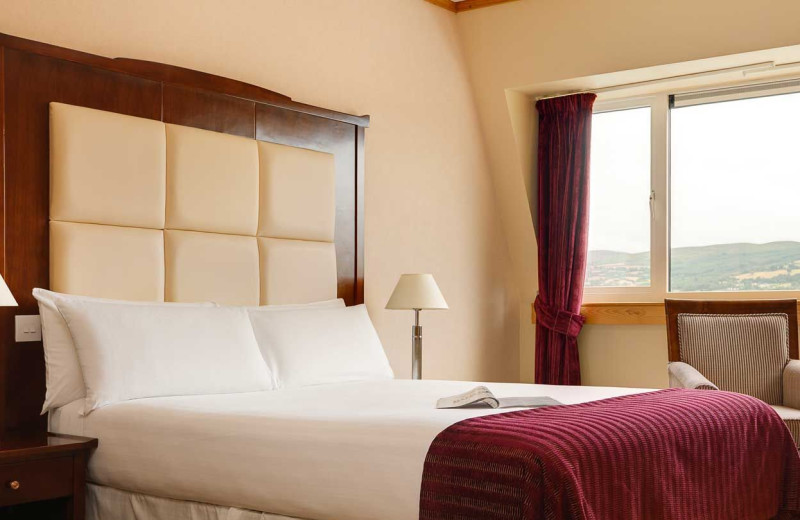 Guest room at Clonmel Arms Hotel.