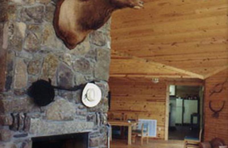 Cabin Interior at Horseshoe Canyon Ranch