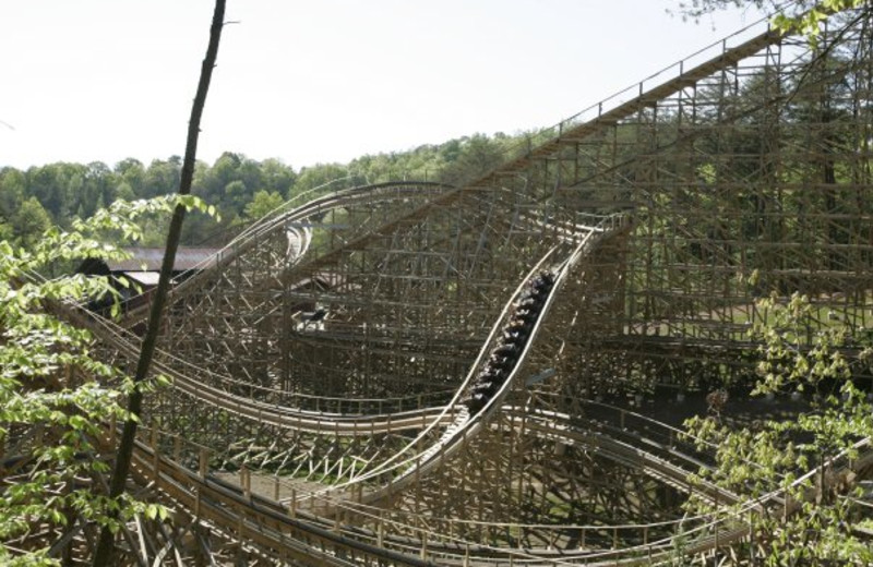Thunderhead Coaster at Dollywood Cabins.