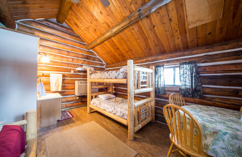Cabin at Wyoming High Country Lodge.