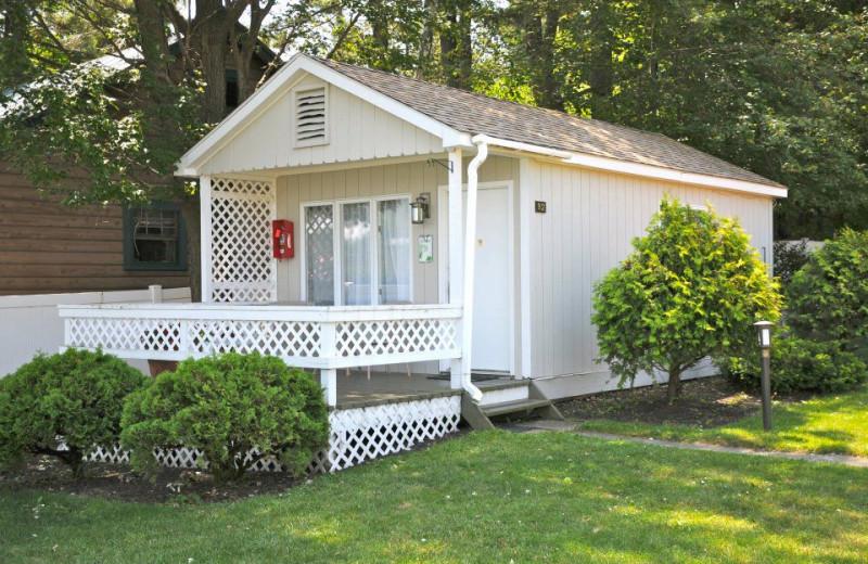 Cabin exterior at Marine Village Resort.
