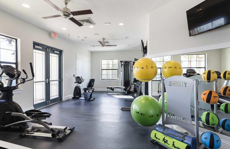 Fitness room at Balmoral Resort.