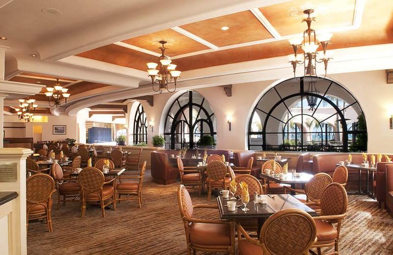 Restaurant interior at Fess Parker's Doubletree Resort.