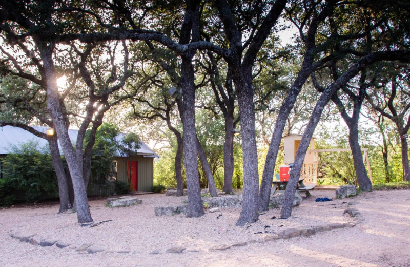 Exterior view of Camp Balcones Spring.