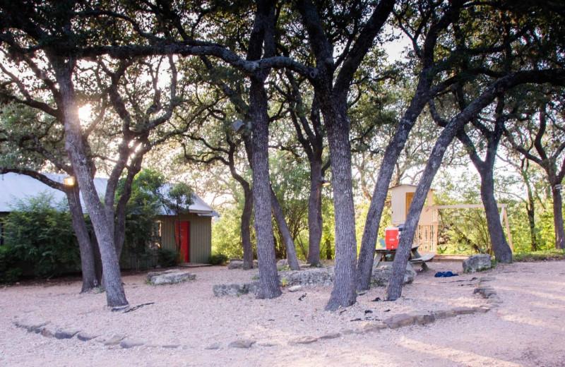 Exterior view of Camp Balcones Spring.