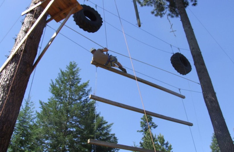 Challenge course at Red Horse Mountain Ranch.