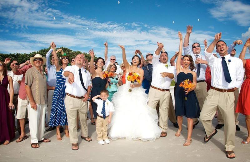 Wedding at Sunset Beach Resort.